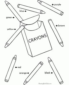 Free printable school coloring pictures for notebooking. Valentine Coloring Pages, School Coloring Pages, Coloring Pages For Kids, Coloring Sheets, Girl's Generation, English Activities, School Worksheets, School Colors, Lessons For Kids