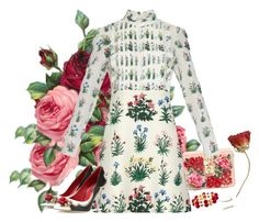 """""""Botanical friends"""" by gabyidc ❤ liked on Polyvore featuring Dolce&Gabbana and Valentino"""