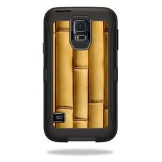 Skin Decal Wrap for OtterBox Defender Samsung Galaxy S5 Bamboo