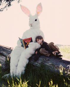 rabbit&little-boy