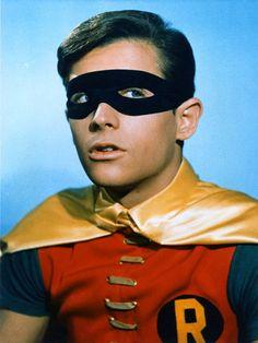 Burt Ward as Robin the The Boy Wonder in the Batman TV series Nightwing, Batgirl, Catwoman, Batman Tv Show, Batman Tv Series, Batman 1966, Batman Robin, Batman 2, Batman Logo