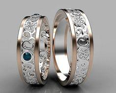 Matching Wedding Band SetHis and Hers Diamond Wedding Band #HisandHersDiamondWeddingRingSets