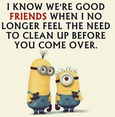 Funny Stuff Funny Minion Memes, Minions Quotes, Frienship Quotes, Minion Talk, Bff Quotes, Cute Quotes, Minion Photos, Minions Friends, Crazy Friends