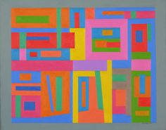 """Ad Reinhardt  Untitled, 1938. Oil on canvas, 16 x 20"""" (40.6 x 50.8 cm). Gift of the artist. © 2012 Estate of Ad Reinhardt / Artists Rights Society (ARS), New York"""