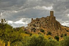 Village of Craco - This ghost village of Craco is located in Basilicata region…