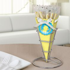 Ducky Duck - Baby Shower Candy Bouquet with Sticklettes $22.99