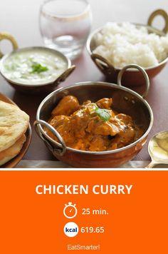 Chicken Curry - diese Gewürze gehören ran!