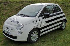 Breizh Breizh Ma Bro, Region Bretagne, Brittany France, Live Picture, Picture Postcards, Fiat 500, Van, Vehicles, Images Photos