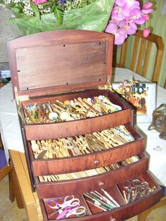 Online shopping from a great selection at Arts, Crafts & Sewing Store. Bobbin Storage, Bobbin Lacemaking, Bobbin Lace Patterns, Yarn Thread, Lace Heart, Linens And Lace, Needle Lace, Lace Making, Antique Lace