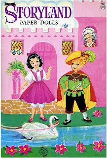 Bonecas de Papel: Storyland Paper Dolls-cover