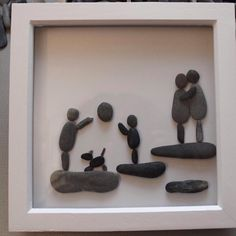 The closeness of family by Pictures in Pebbles