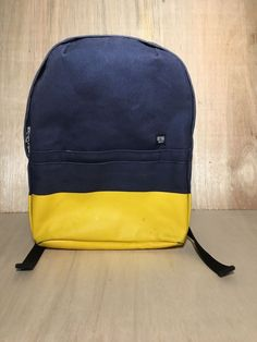 Jack Spade New York GAPkids backpack Navy Blue with Yellow bottom  fashion   clothing   d1d6d242d5d97