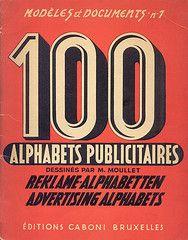 100 alphabets publicitaires
