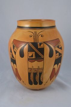 Hopi Pot by Jean Sahmie (tagged contemporary)