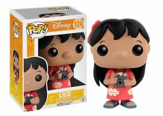 Funko - Disney - Lilo & Stich - POP! Disney - Vinyl Figure - Lilo