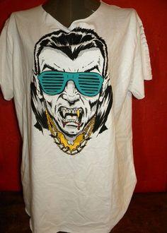 80s Dracula Halloween Horror Cut Up T Shirt X Large by KillWalmart, $15.00