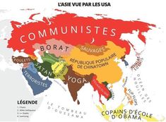 l'Asie vue par les USA