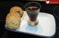 Colometa Cuinereta: Aguardiente de naranja y café