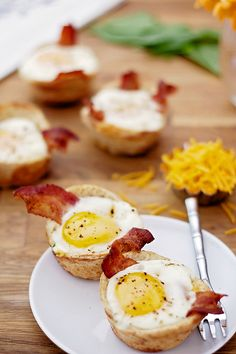 Breakfast Toast Cups