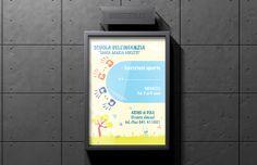 Manifesti A3 - Scuola Dell'Infanzia Materna   #posters #poster #design #kindergarten - #pixeldesign
