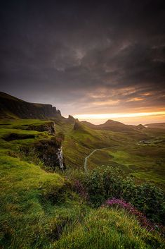 Morning at the Quiraing by wim denijs / Scenery Pictures, How Beautiful, Beautiful Landscapes, Vacation, Explore, Mountains, World, Travel, Scotland