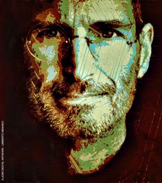 STEVE JOBS - DIGITAL ARTWORK UMBERTO MENASCI
