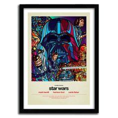 Fancy - Star Wars Print by Van Orton
