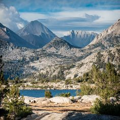 A Good JMT Itinerary – Part 1. Also provides great places to camp along JMT