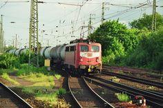1999.05.20.    140-793 Hamm/Westfalen Die Lok hat eine besondere Kupplung für schwere Erzzüge