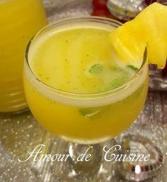 jus brule graisses a l'ananas et citron