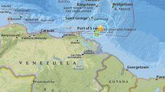 en directo: Un sismo de magnitud 5,8 sacude Trinidad y Tobago