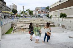 Cais do Valongo, no Rio de Janeiro, é Patrimônio Mundial da Unesco