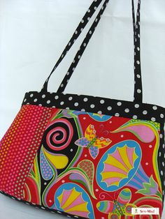 PatternPile.com - Hundreds of Patterns for Making Handbags, Totes, Purses, Backpacks, Clutches, and more. | �Not a Funeral Bag� � Free Pattern | http://patternpile.com/sewing-patterns
