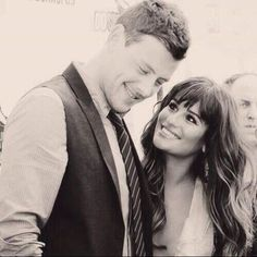 glee will never be the same without him =/ .... Cory Monteith and Lea Michele