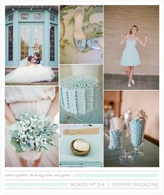 We're going to be seeing A LOT of this duck egg blue color after The Oscars! What a great color palette for any season! Duck Egg Blue Wedding, Dusky Blue Wedding, Duck Egg Blue Colour Palette, Sister Wedding, Wedding Day, Duck Egg Blue Green, Blue Pallets, Tartan Wedding, Bridesmaid Duties