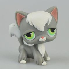 Hasbro Littlest Pet Shop Collection LPS Figure Loose Toy Rare Lazy Kitty Cat