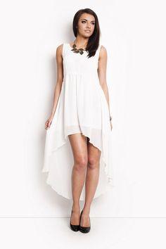 Sukienka 5009 biały | Odzież damska \ sukienki