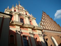 Warszawa - Jesuit church and the cathedral of St. John   Flickr - Photo Sharing!