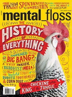 Mental Floss Cover by Mary Kate McDevitt