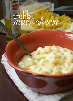 Truffle Mac and Cheese - The Stylist Quo