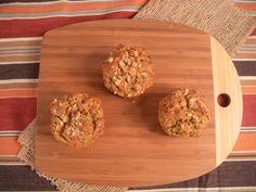 Gluten Free, Grain Free Spiced Carrot Muffins