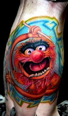 animal muppet | Tattoo Tuesday- The Muppets | Girl Gone Geek Blog
