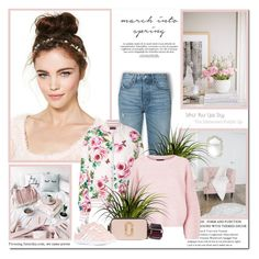 """""""March into spring!!"""" by lilly-2711 ❤ liked on Polyvore featuring GRLFRND, Dolce&Gabbana and Prada"""