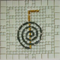#GermanySignsProject  Llynda Baugh Mosaic Projects, Art Projects, Jung In, Letters And Numbers, Mosaic Art, Symbols, Signs, Mosaics, Art