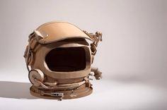 Cardboard Spacesuit Helmet