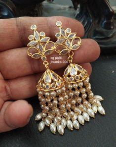 Pearl Jewelry, Indian Jewelry, Diamond Jewelry, Antique Jewelry, Gold Jewelry, Beaded Jewelry, Jewelery, Gold Hoop Earrings, Gold Necklace
