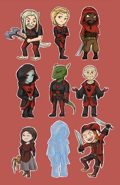 """Aww! The Dark Brotherhood! Wait... """"Aww?"""" That shouldn't be cute... BUT IT IS!!"""