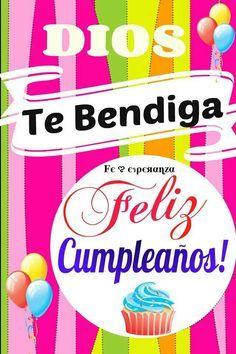Dios te bendiga.., Feliz Cumpleaños