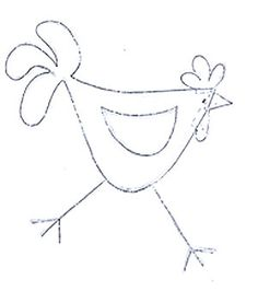 Wool Applique, Applique Patterns, Quilt Patterns, Chicken Crafts, Chicken Art, Pach Aplique, Chicken Drawing, Chicken Quilt, Freehand Machine Embroidery