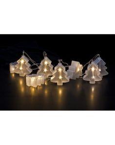 Lichterkette 3D Tree, 16 LED warmweiss, indoor, 230V, 1.2W, Länge: 2.1m, 5m Anschlusskabel #lichterkette #led #weihnachten #dekoration #schmücken